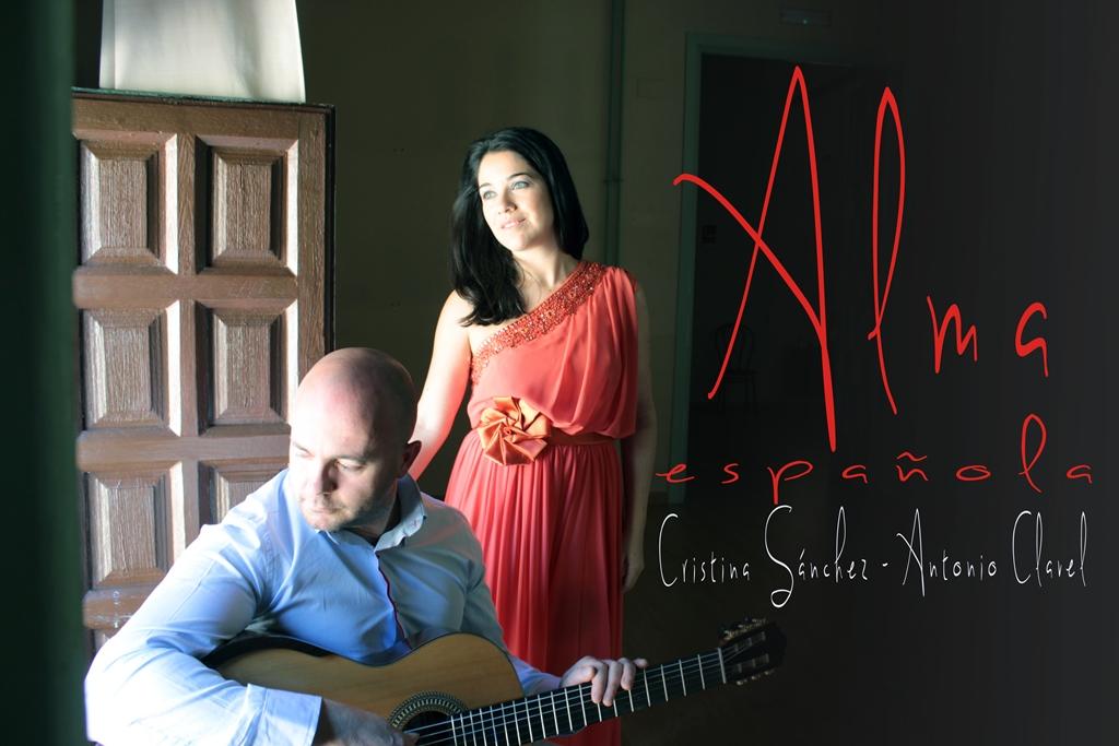 Alma española, concierto de voz y guitarra con bellas piezas del repertorio español.